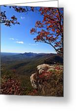 Caesars Head State Park In Upstate South Carolina Greeting Card