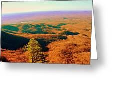 Caesars Head State Park Greeting Card