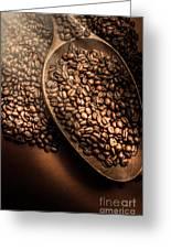 Cafe Aroma Art Greeting Card