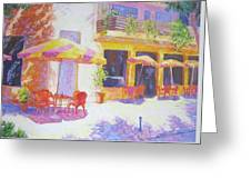 Cafe In Spain Greeting Card