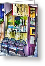 Cafe Joul Greeting Card