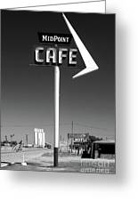 Cafe Midpoint Greeting Card