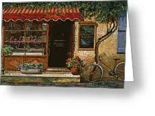 caffe Re Greeting Card