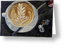 Caffe Vero Cappie Greeting Card