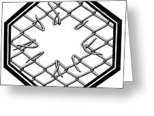 Caged 1 Greeting Card