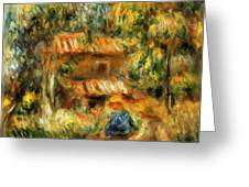 Cagnes Landscape 1 Greeting Card