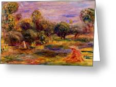 Cagnes Landscape 1908 Greeting Card