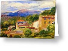 Cagnes Landscape 1910 1 Greeting Card