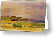 Cagnes Landscape 1910 2 Greeting Card