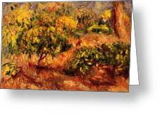 Cagnes Landscape 1919 Greeting Card