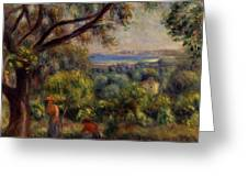 Cagnes Landscape 4 Greeting Card