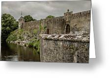Cahir Castle 1384 Greeting Card