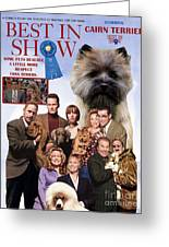 Cairn Terrier Art Canvas Print - Best In Show Movie Poster Greeting Card