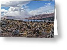 Cairns Of Loch Loyne Greeting Card