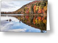 Cairns On Moss Lake Greeting Card