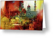Cairo Egypt Art 01 Greeting Card