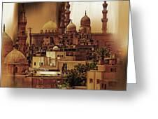 Cairo Egypt Art 03 Greeting Card