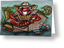 Cajun Critters Greeting Card