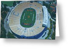 Cal Memorial Stadium Greeting Card