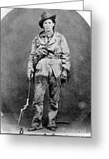 Calamity Jane (1852-1903) Greeting Card