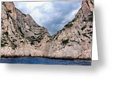 Calanque Art Greeting Card