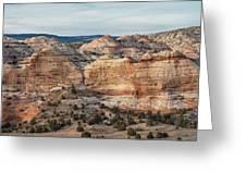Calf Creek Canyon Grand Staircase Escalante Utah Greeting Card