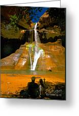 Calf Creek Falls Utah Greeting Card
