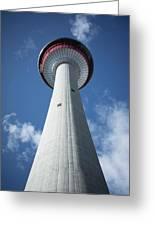 Calgary Tower Greeting Card