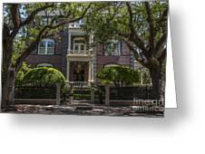 Calhoun Mansion Greeting Card