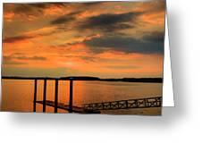 Calibogue Dock Greeting Card