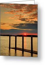 Calibogue Sound Sunset Greeting Card