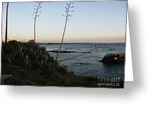 California At Twilight Greeting Card
