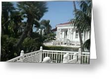 California Balcony Greeting Card