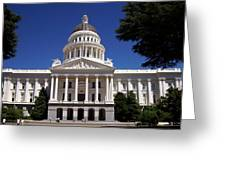California Capitol Greeting Card