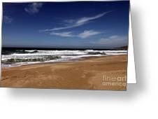 California Coast Greeting Card by Amanda Barcon