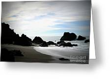California Coast Iv Greeting Card