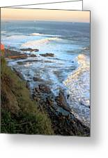 California Coastline 0553 Greeting Card