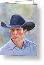 California Cowboy Greeting Card