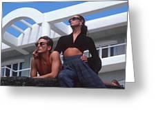 Miami Nice Greeting Card