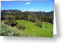 California Highlands Greeting Card