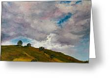 California Hills Greeting Card