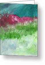 California Landscape- Expressionist Art By Linda Woods Greeting Card