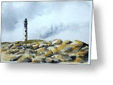 California Lighthouse Greeting Card