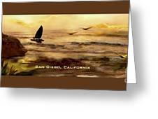 California Love Greeting Card