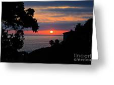 California Mediterranean Greeting Card