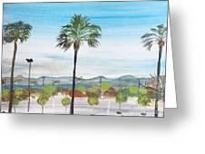 California Painting Greeting Card