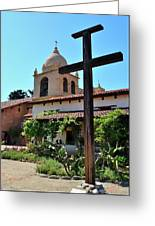 California Spanish Mission Greeting Card
