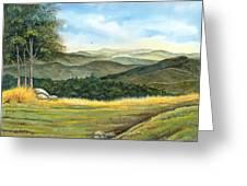 California Spring Greeting Card
