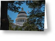 California State Capital Greeting Card