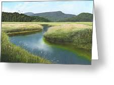 California Wetlands 2 Greeting Card